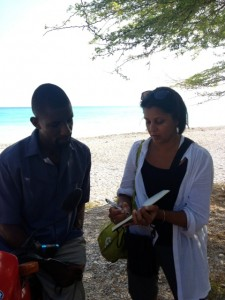 In Belle-Anse, Haiti, learning about the explosive cholera epidemic